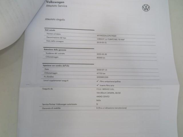 Volkswagen Golf Variant 1.4 TGI Trendline BlueMotion